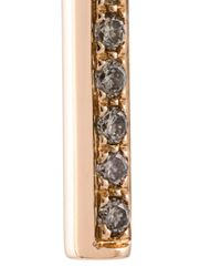 Roberto Marroni - Metallic Solid Bar Diamond Earring - Lyst