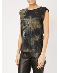 Avant Toi - Black Tie Dye T-shirt - Lyst
