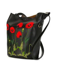 Stella McCartney - Black 'botanical' Shoulder Bag - Lyst