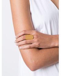 Maiyet - Orange Large Organic Ring - Lyst