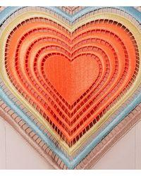 Christopher Kane - Multicolor Sleeveless Extra Large Love Heart Motif Dress - Lyst