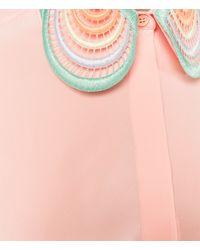 Christopher Kane - Multicolor Multi Heart Collar Shirt - Lyst