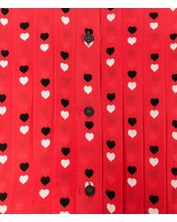 Christopher Kane - Blue Love Heart Print Shirt - Lyst