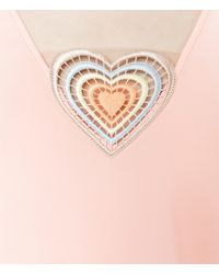 Christopher Kane - Multicolor Love Heart Top - Lyst