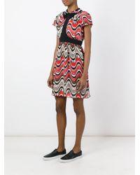 M Missoni | Multicolor Wavy Print Dress | Lyst