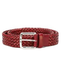 Church's - Red Woven Belt - Lyst