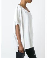 Faith Connexion - White Chest Pocket Oversized T-shirt - Lyst