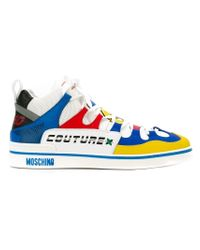 Moschino | Multicolor 'toy' Hi-top Sneakers for Men | Lyst