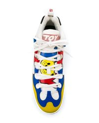 Moschino - Multicolor 'toy' Hi-top Sneakers for Men - Lyst