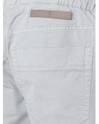 Eleventy - Gray Drawstring Pants for Men - Lyst