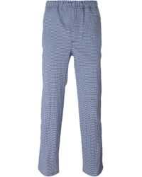 Our Legacy | Blue Striped Relaxed Trousers for Men | Lyst