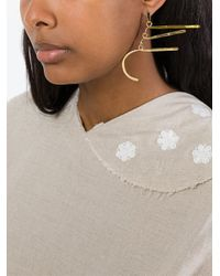 Aurelie Bidermann - Metallic 'vera' Earrings - Lyst