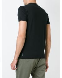 Armani Jeans - Black Logo Print T-shirt for Men - Lyst