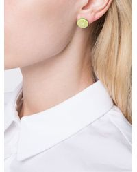 Venessa Arizaga - Multicolor 'margarita Lime' Earrings - Lyst