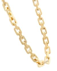 Eddie Borgo - Metallic Pave Smooth Supre Link Necklace - Lyst