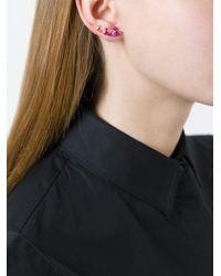 Vivienne Westwood | Pink Tricolour Earrings | Lyst