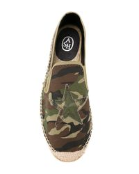 Ash - Green 'wonder Camouflage' Espadrilles for Men - Lyst