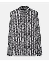Christopher Kane - Black Bolster Print Shirt for Men - Lyst
