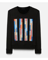 Christopher Kane - Black Bolster Embroidered Sweater for Men - Lyst