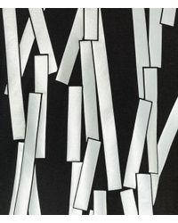 Christopher Kane - Black Reflective Broken Bolster Frame T-shirt for Men - Lyst
