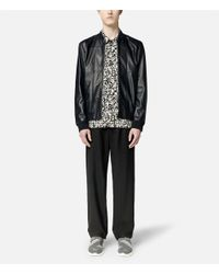 Christopher Kane - Blue Grid Bomber Jacket for Men - Lyst