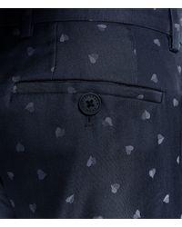 Christopher Kane - Black Heart Tailored Trousers for Men - Lyst
