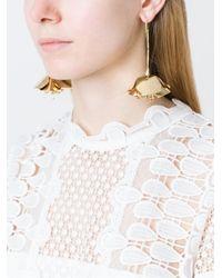 Aurelie Bidermann - Metallic 'paloma' Earrings - Lyst