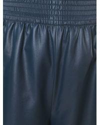 Cedric Charlier - Blue Cédric Charlier Elasticated Waistband Wide Pants - Lyst