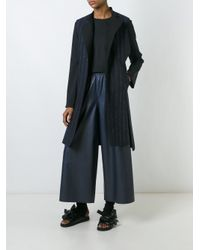 Cedric Charlier - Blue Cédric Charlier Elasticated Waistband Wide Pants - Lyst