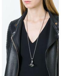 Vivienne Westwood | Metallic Logo Pendant Necklace | Lyst