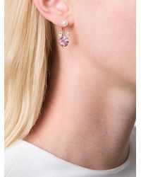 Delfina Delettrez - Metallic 'magic Puppy' Diamond Earring - Lyst