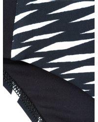La Perla - Black 'op-art' Bikini Briefs - Lyst