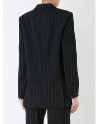 Scanlan Theodore - Black Pinstripe Tailored Blazer - Lyst