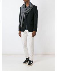 Eleventy | Black - Slim-fit Chinos - Men - Cotton/spandex/elastane - 38 for Men | Lyst