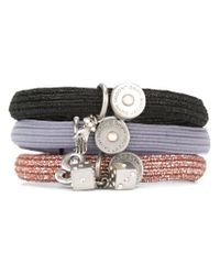 Marc Jacobs - Multicolor 'charm' Cluster Hair Bands - Lyst