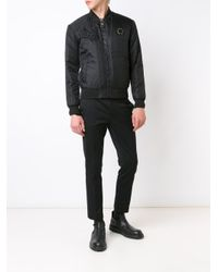 Philipp Plein | Black 'everglades' Bomber Jacket for Men | Lyst