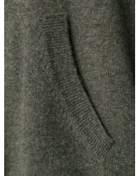 Nili Lotan - Gray Hooded Sweater - Lyst