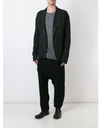 Lost and Found Rooms | Black Melange Jacket for Men | Lyst