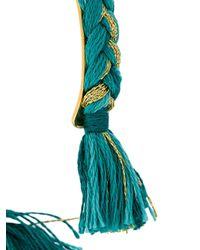 Aurelie Bidermann | Green 'copacabana' Thin Bangle | Lyst