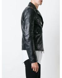DSquared² - Natural Classic Biker Jacket for Men - Lyst