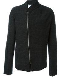 Lost and Found Rooms   Black Melange Jacket for Men   Lyst