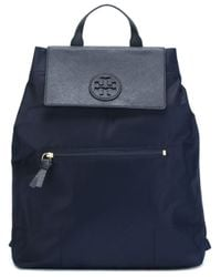 Tory Burch - Blue 'ella' Backpack - Lyst