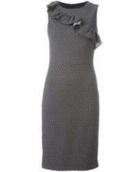 Boutique Moschino | Metallic Square Pattern Dress | Lyst