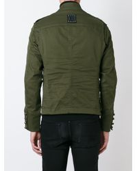 DSquared² - Blue 'golden Arrow' Jacket for Men - Lyst