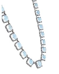 Larkspur & Hawk - Metallic Long Graduated 'bella Rivière' Necklace - Lyst