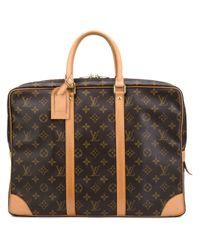 Louis Vuitton - Brown Monogram Briefcase for Men - Lyst