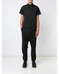 Off-White c/o Virgil Abloh - Black Rear Eagle Print Shirt for Men - Lyst