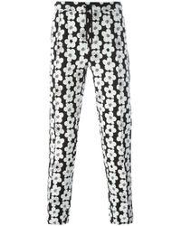 Soulland - Black 'keller' Trousers for Men - Lyst
