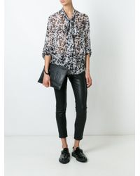 McQ - Gray Pony Print Shirt - Lyst