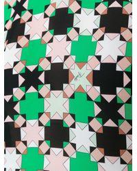 Emilio Pucci - Blue Geometric Print Blouse - Lyst